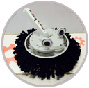 party bot icon cleaner robot